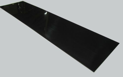 ".062/"" x 12/"" x 48/"" 1//16/"" 2 Units Delrin POM Acetal Black Sheet"