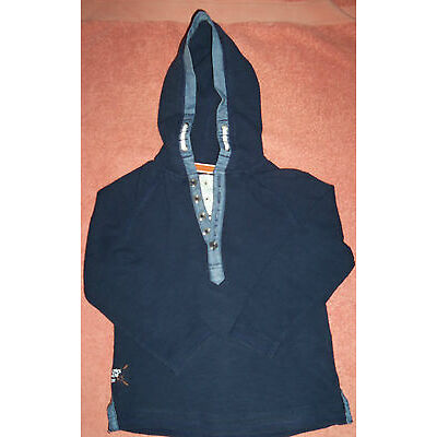 Boys NEXT Originals Hooded Top Age 4 Years - 104 cms - 100% cotton