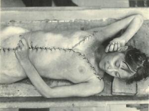 Antique-Post-Mortem-Autopsy-Photo-194-Bizarre-Odd-Strange