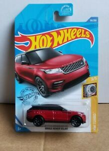 2020 Hot Wheels Red Range Rover Velar HW Turbo#119