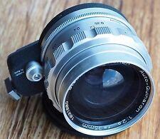 Steinheil 35mm 2.8 Auto Quinaron lens w/ hood, Exakta mount | 35/2.8 35 f2.8