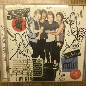She Looks So Perfect Ep Signed By 5 Seconds Of Summer Cd Apr 2014 Capitol Ebay
