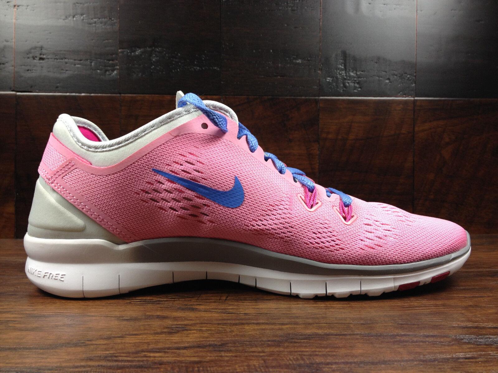 Nike free 5.0 / tr fit 5 frauen (rose / 5.0 polar / pure platinum) crossfit 1d8d25
