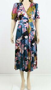 Monsoon-Women-039-s-Multi-Print-Midi-Cocktail-Party-Floral-Dress-UK-6-to-22-110