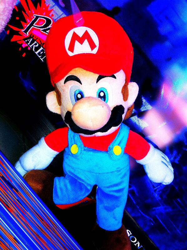 Peluche morbido grande super Mario Mario Mario bros 25 cm ae7a4b