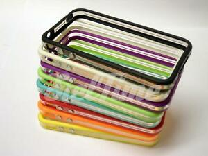 BUMPER-CASE-PER-IPHONE-4-4S-COVER-CUSTODIA-TPU-TRASPARENTE-SLIM
