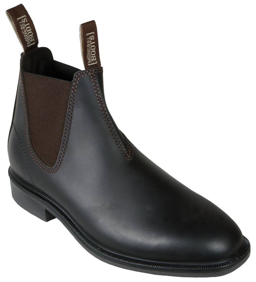 Mongrel 816030, Work, Cut. Dress, Riding Boots. Brown Chelsea V Cut. Work, Premium product 16d33e