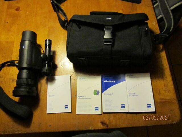 Nachtsichtgerät Zeiss Victory NV 5,6x62 T * mit Laser Fire GP Strahler