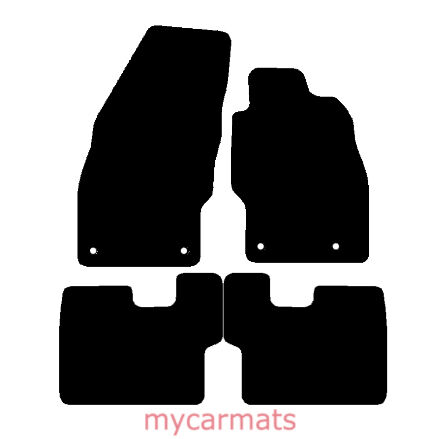 New Fully Tailored Car Floor Mats Heavy Duty Rubber Vauxhall Corsa D 2006-2014