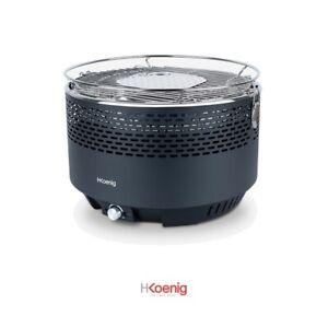 Barbacoa de carbón portátil HKoenig RIO440