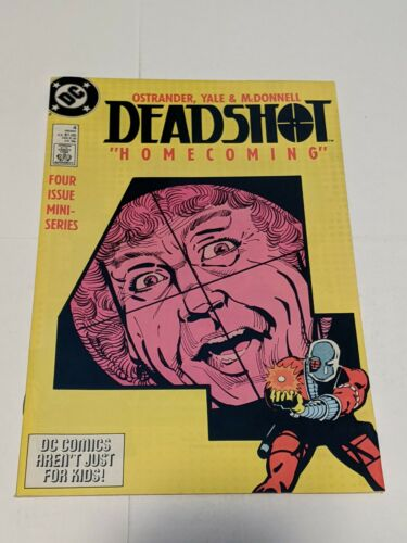Deadshot #4 Holiday 1988 DC Comics Limited Series Four Issue Mini-Series