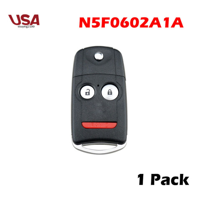 Replacement For Acura 2007-2013 MDX RDX Remote Car Flip