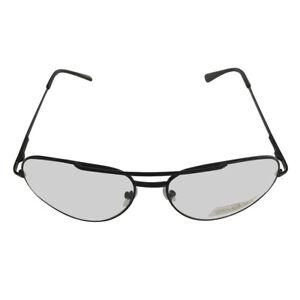 f54ac71f009 Black Frames With Clear Lens Aviator Glasses Napoleon Dynamite Bill ...