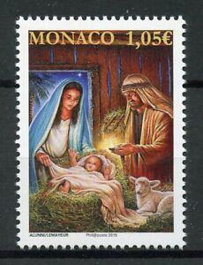Monaco-Stamps-2019-MNH-Christmas-Nativity-Mary-Baby-Jesus-1v-Set