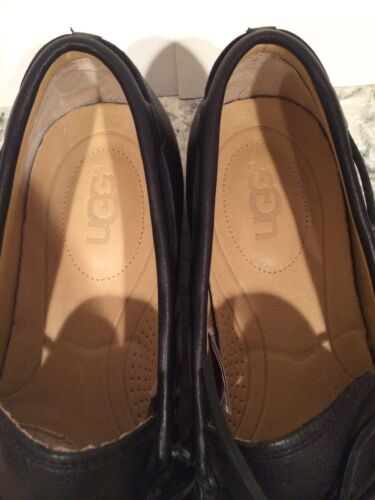 Pelle Moc Hendricks In 3 45 Vero Ugg 1 5 11 Pelo Slip Mocassini Nero Suola On HtxpnC