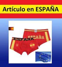 BOXER hombre de ESPAÑA futbol baloncesto equipacion ropa calzoncillo slip