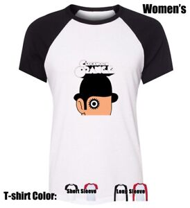 Clockwork-Orange-Symbol-Graphic-Tees-Womens-Ladies-Girl-039-s-Cotton-T-Shirt-Tops