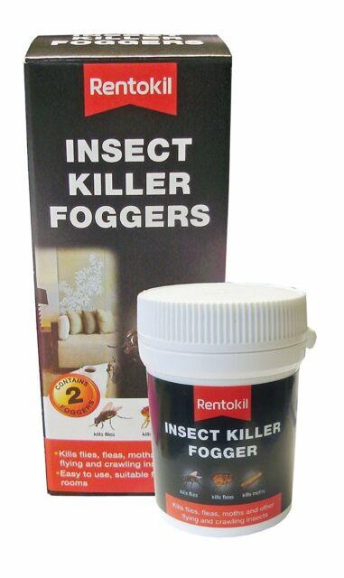 4x Rentokil FI65 Insect Killer Foggers (Pack of 2)