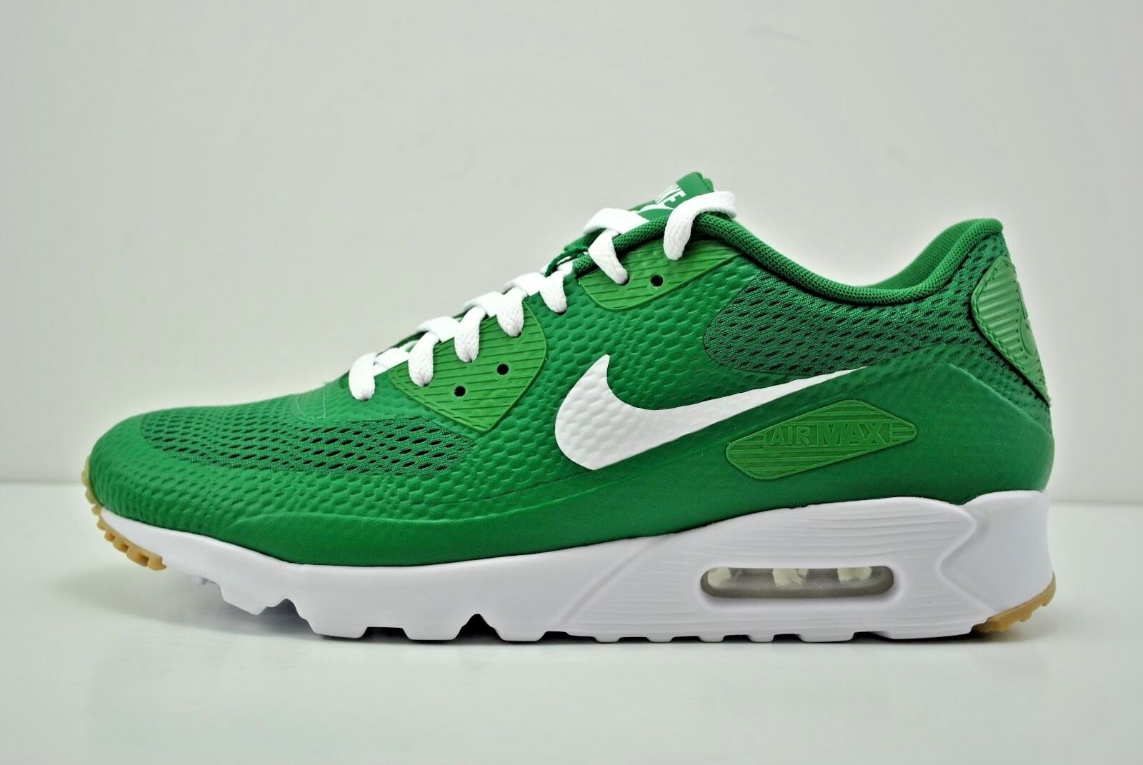 quality design 1b681 e0c43 70%OFF Men Nike Air Max 90 Ultra Essential Running Shoes Size 12 Green White