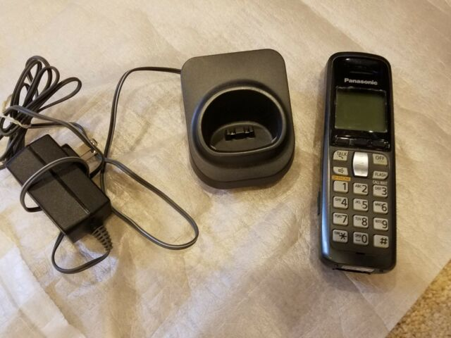 Panasonic KX-TGA641T Cordless Replacement/Expansion Handset+Charging Base TG64XX