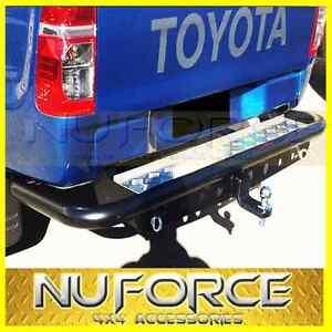Toyota-Hilux-2005-2014-Rear-Step-Rear-Bullbar-Off-Road-Towbar