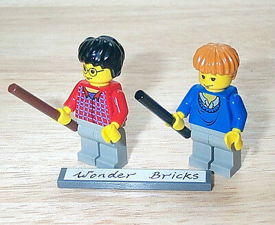 Lego Harry Potter Minifigure Ron Weasley from Set 4708 4728 100/% REAL