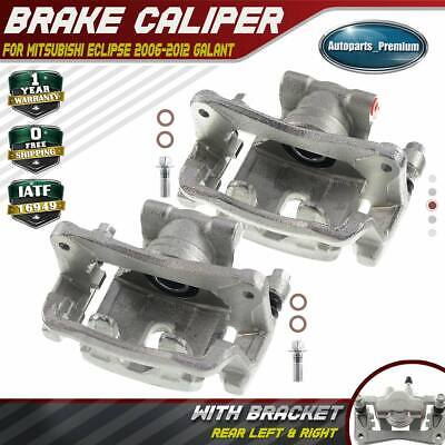 Rear Driver Side Brake Caliper Assembly Compatible with Mitsubishi Endeavor V6 3.8L