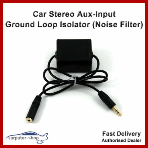Noise Filter Car Stereo Aux-Input Ground Loop Isolator Line In