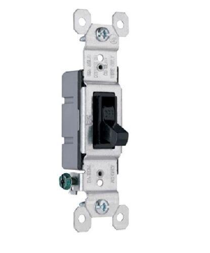 Black P /& S 660-BKG Grounding Toggle Switch 15A 120V 1P