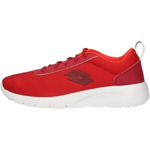 Details about LOTTO T3980 MEGALIGHT RED SNEAKERS MAN - Scarpe sportive uomo  Running Shoes b6e81d84cae