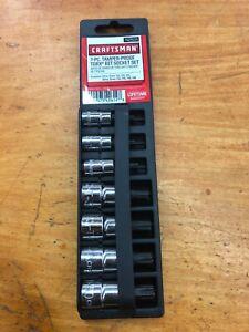 Craftsman-1-4-amp-3-8-Drive-7PC-Torx-Bit-Socket-Set-T15-T50-p-n-42614