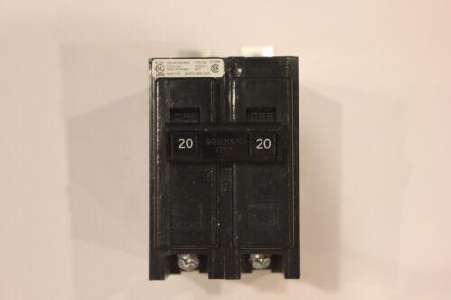 Eaton Cutler-Hammer 20 Amp 2 Pole Circuit Breaker Type BA