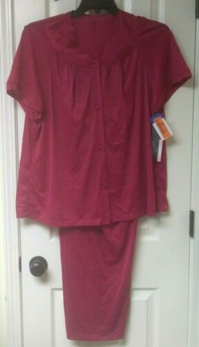 Details about  /Exquisite Form Pajama Sleepwear New with Tags with Defects Pink or Red