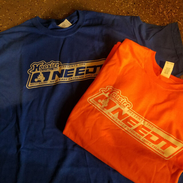 NE Extreme Dirt Track Series Official Shirt Shirts Clothing EDT Hoosier XL