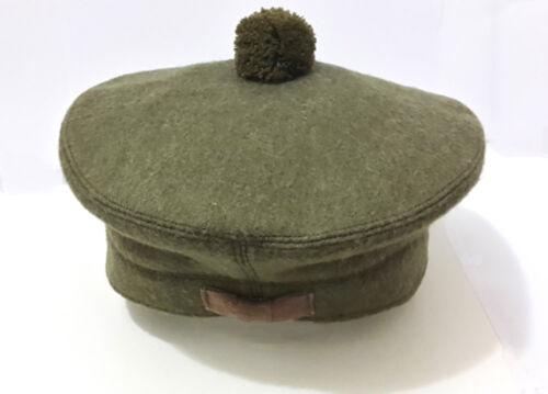 Scozzese Tam O Shanter Cappello militare Cappellino Berretto Balmoral Esercito Berretto Cappello Scott/'S