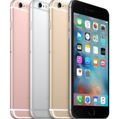 """Apple iPhone 6s- 16GB 64GB 128GB GSM """"Factory Unlocked"""" Smartphone All Colors"""