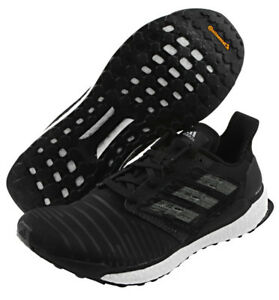 a3805a0670e3b adidas Solar Boost Men s Running Shoes Black Fitness Gym Walking ...