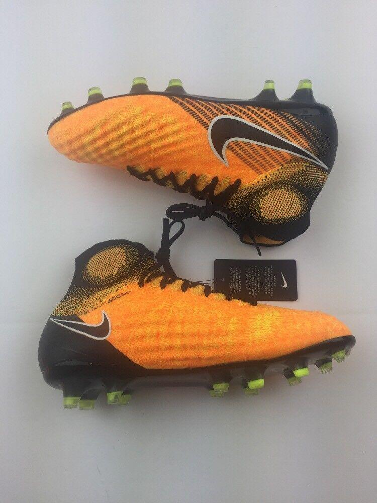 Nike magista obra ii fg calcio galloccia laser arancione / volt di dimensioni k77-74-89