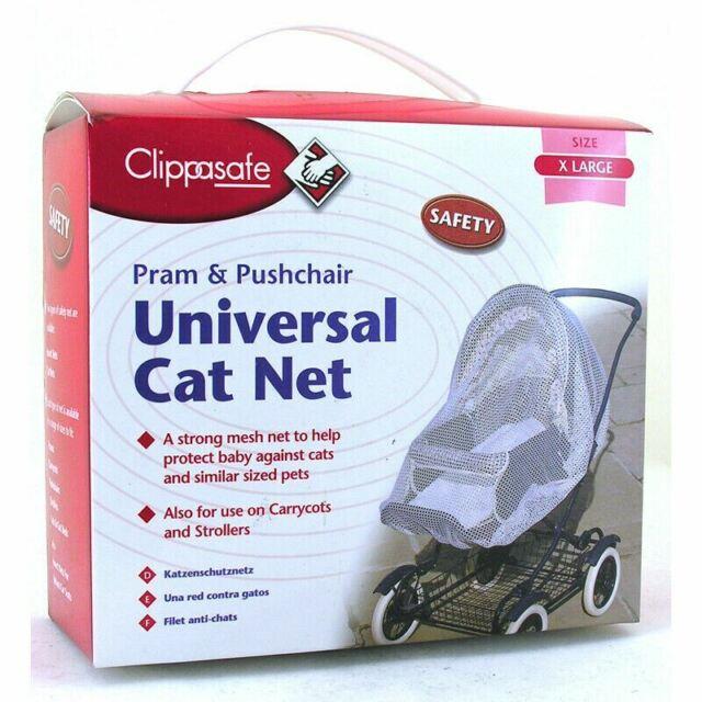 Clippasafe UNIVERSAL PRAM//CARRYCOT LARGE RAIN COVER Child Travel Safety BNIB