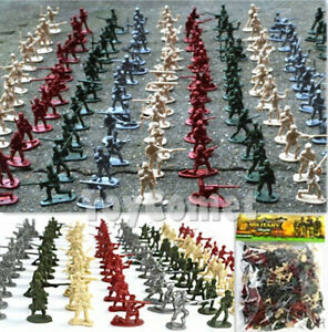200-pcs-Military-Plastic-Toy-Soldiers-Army-Men-1-72-Figures-in-12-Poses