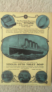 The Titanic SOAP Repro POSTER