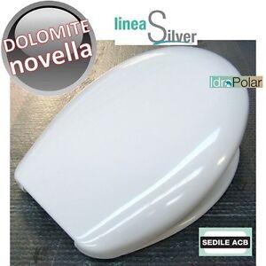 Sedile Wc Dolomite Novella.Nuovo Sedile Wc Novella Ceramica Dolomite Sospeso Acb Ercos In Termoindurente Ebay