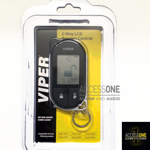Viper 7756V 2-Way 1-Mile LCD Remote Control AND Leather Case For The Viper 4706V