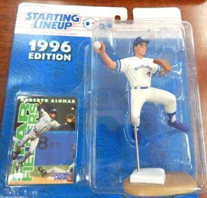Starting-Lineup-1996-MLB-Roberto-Alomar-Figurine-and-card
