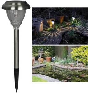 Luxform outdoor garden path solar led battery lights garden spike la imagen se est cargando luxform ruta de jardin al aire libre luces aloadofball Image collections
