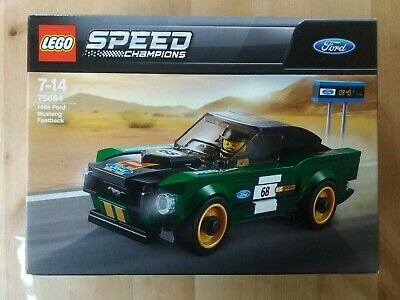 NEU /& OVP ! 75884 1968 Ford Mustang Fastback LEGO® Speed Champions