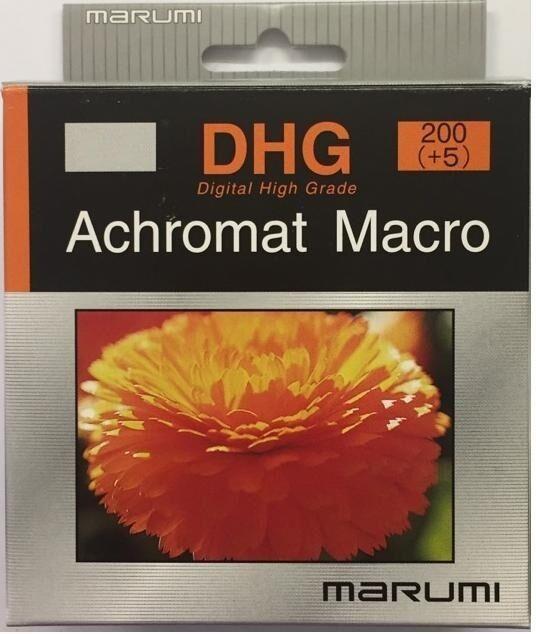 Marumi DHG Close up Achromat 200 (+5) 72mm Lens DHG200ACH72, London