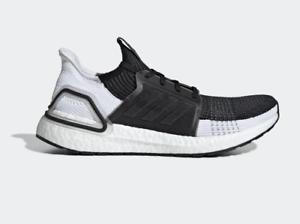 7619d4263 Adidas Running Ultraboost 19 Shoes Men Core black grey B37704 new ...