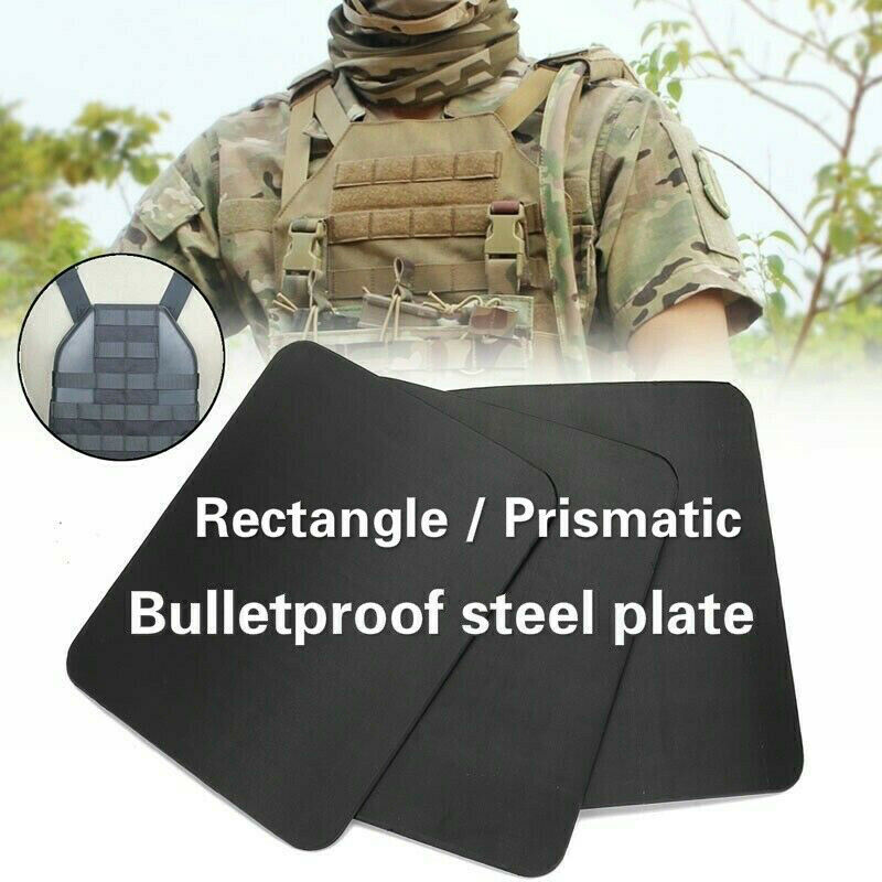 IIIA  Stand Alone Steel Plate Safety Body Armor Military Police Bulletproof Panel  brands online cheap sale
