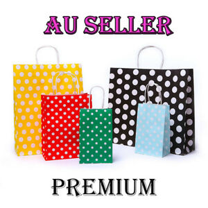 Christmas Bags In Bulk.Details About Bulk 10 100pc Kraft Paper Bag Gift Carry Shopping Bags Christmas Party Gift Bags